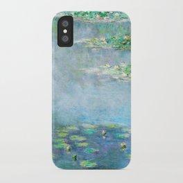 Monet Water Lilies / Nymphéas 1906 iPhone Case