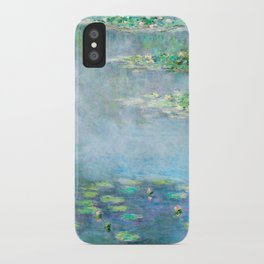 Monet Water Lilies / Nymphéas 1906 iPhone Case