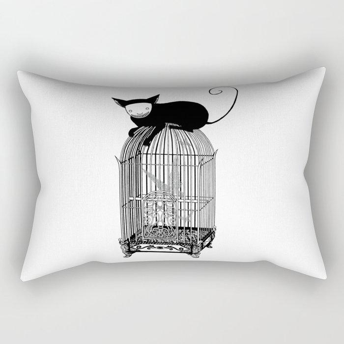 Cages Rectangular Pillow