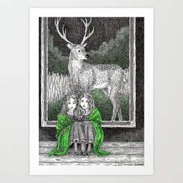 Daughters of the Forest Art Print