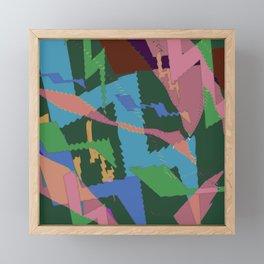 Abstract Z 19 Framed Mini Art Print