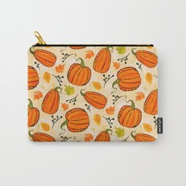 Pumpkins pattern I Carry-All Pouch