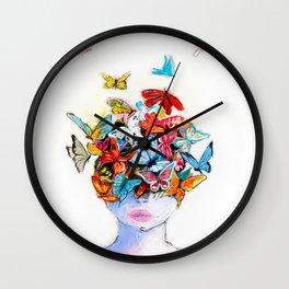 Beautiful life Wall Clock