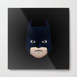 I'm Bat-Man (Emoji) Metal Print