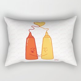 love food  Rectangular Pillow