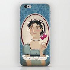 Jane Austen said... iPhone & iPod Skin