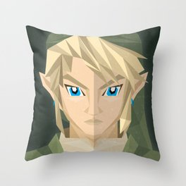 The Hero of Time Throw Pillow