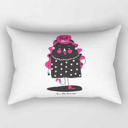 Be That Lady Rectangular Pillow