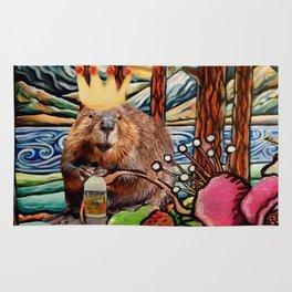King of the Beavers Rug