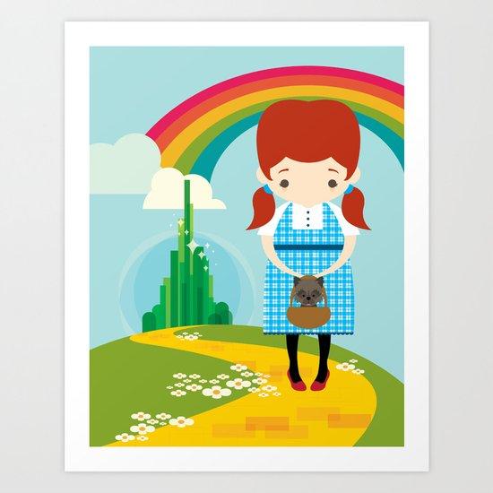 Dorothy Wizard of Oz Art Print