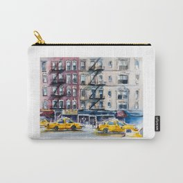 New York, wtercolor sketch Carry-All Pouch
