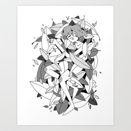 sleep / original Art Print