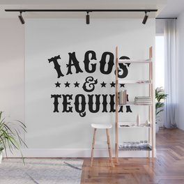 Tacos & Tequila Wall Mural