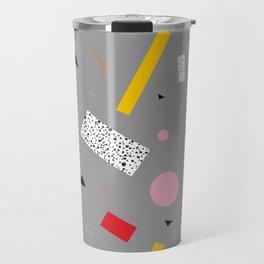 Memphis Milano Deconstructed Tahiti Table Lamp Confetti Travel Mug