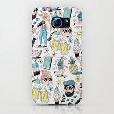 Summer Pattern Galaxy S6 Slim Case