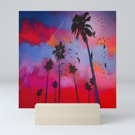 Pacific Sunset Mini Art Print