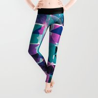 dead Leggings featuring Dead End by Spires
