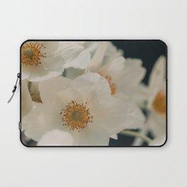 Anemone On Black Laptop Sleeve