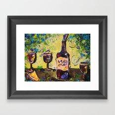 Lush Buffet Framed Art Print