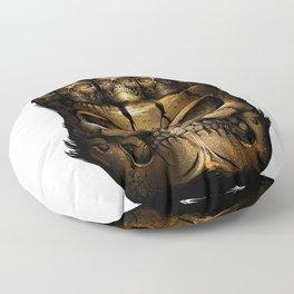 riddles of ancient civilizations Floor Pillow