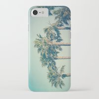 palms iPhone & iPod Cases featuring Palms by Laura Ruth