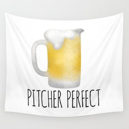 Pitcher Perfect Wall Tapestry