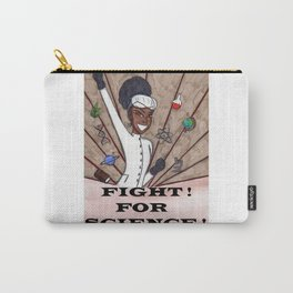Fight For Science Version 2 Carry-All Pouch