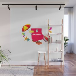 Duck Royale 3D - Game Paused Design Wall Mural
