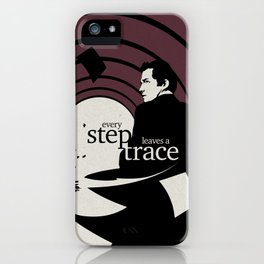 The running man iPhone Case