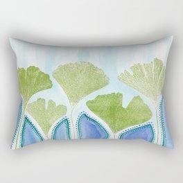 Ginkgo Delta Rectangular Pillow