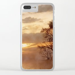 Sunset Moods Clear iPhone Case