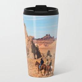 Cowboys and Rocks Travel Mug
