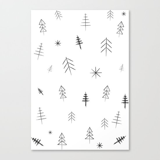 O Christmas tree[s] Canvas Print
