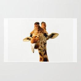 Fanny giraffe Rug