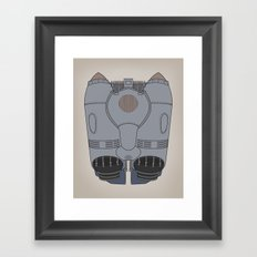 The Rocketeer - Jet Pack Framed Art Print