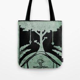 Grounding (Black) Tote Bag