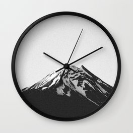 THE MOUNTAINS III Wall Clock