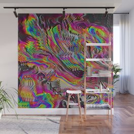 Glitched TV Wall Mural