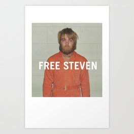 Free Steven Art Print