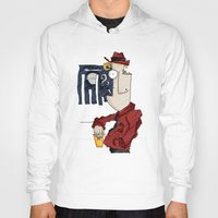 drink Hoodies featuring DRINK by Ivano Nazeri