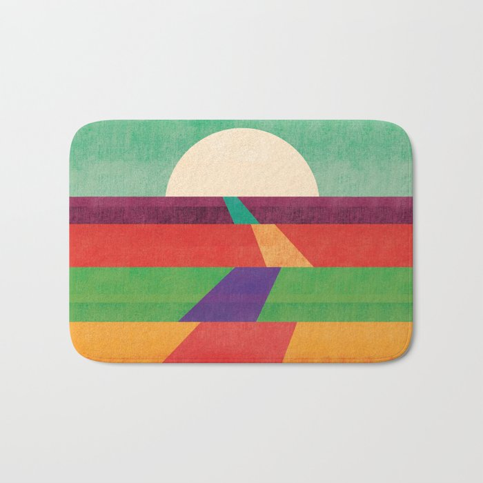 The path leads to forever Bath Mat