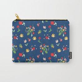 Vinage Retro bouquet botanicals Carry-All Pouch