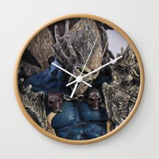 blue Spawn Wall Clock