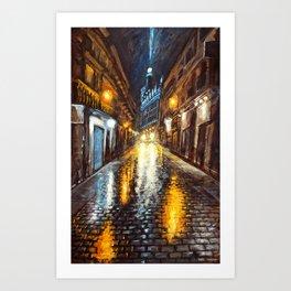 Reflexiones Art Print