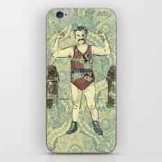 Rustic hero iPhone & iPod Skin