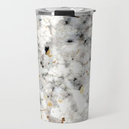 Classic Marble with Gold Specks Travel Mug