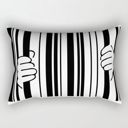 Barcode Rectangular Pillow
