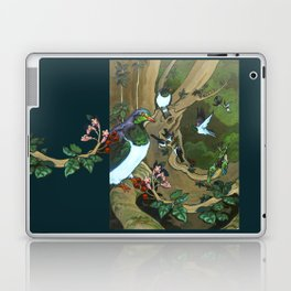 Pigeons, Parakeets and Fantails Laptop & iPad Skin