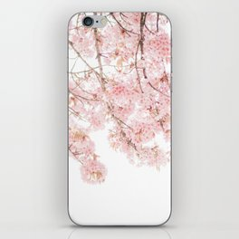 Pink Blooming Cherry Trees iPhone Skin