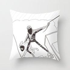 Spider-Beard Throw Pillow